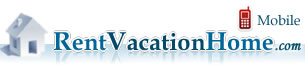 RentVacationHome.com mobile home page